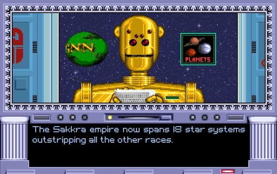 Galactic News Network - Master of Orion - Screenshot