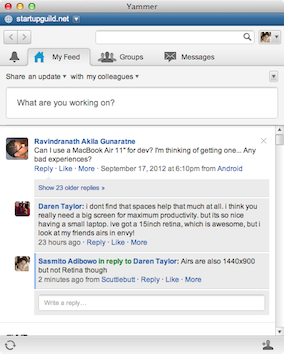 Yammer Official Client for Mac