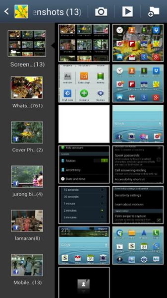 The screen shots