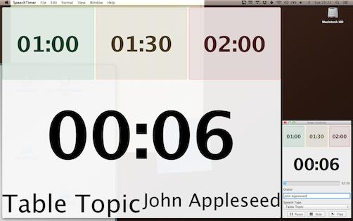 01 speech timer desktop shot