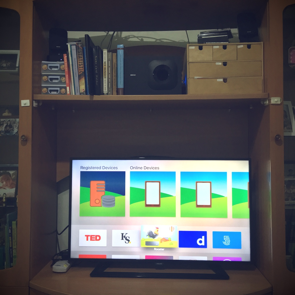 Rooster at home TV screenshot