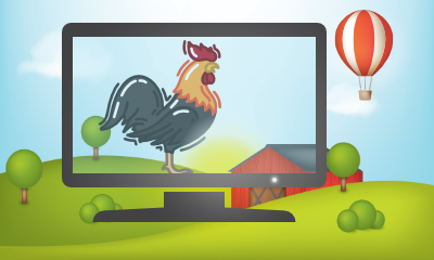Rooster App Icon 400x240