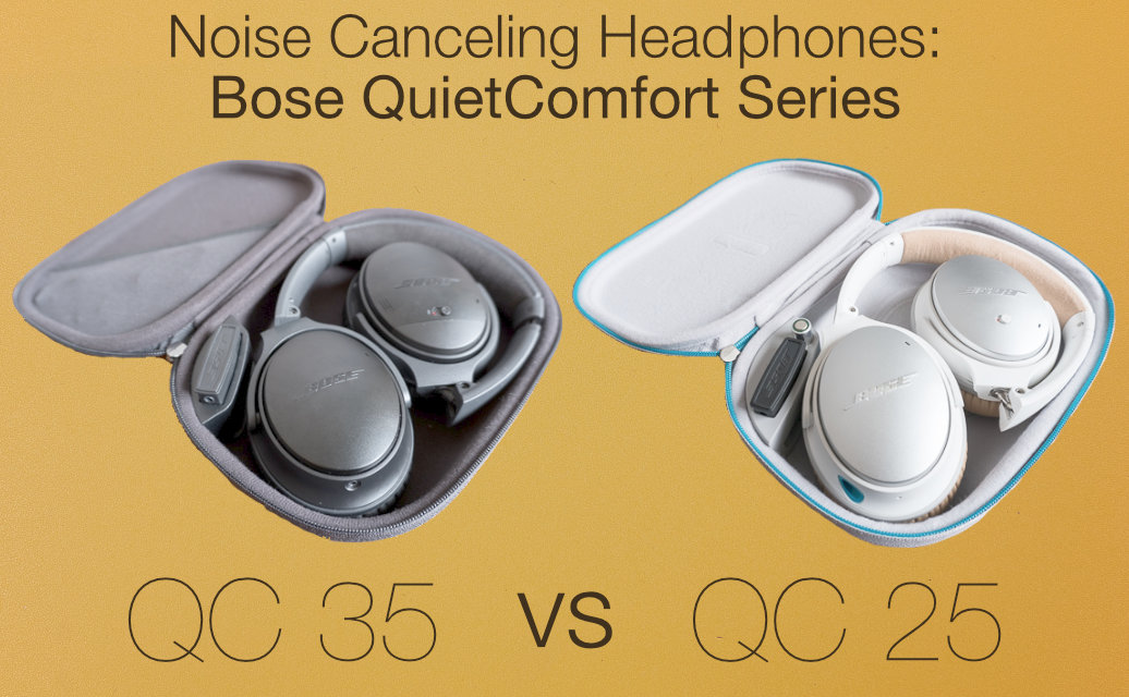 Bose Qc25 Vs Qc35 >> Noise Canceling Headphones Bose Qc25 Vs Qc35 Basil Salad Software