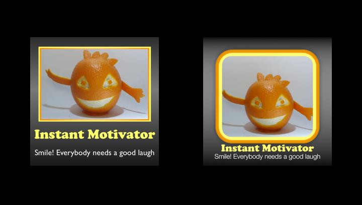 Instant Motivator icon comparison