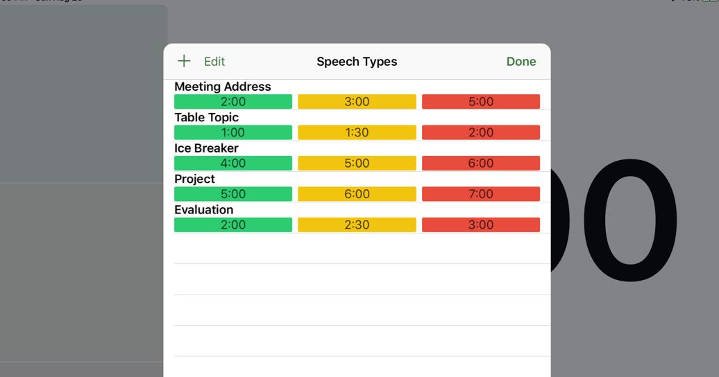 Speech types iPad
